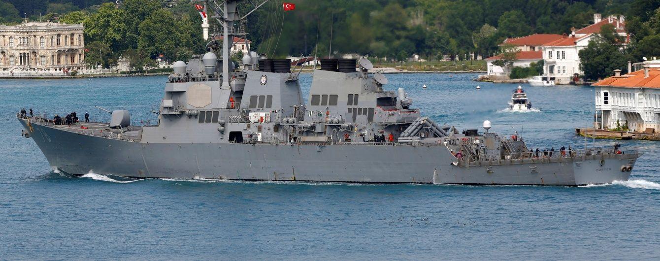 Росія пригрозила відповісти США на заходження американських есмінців до Чорного моря