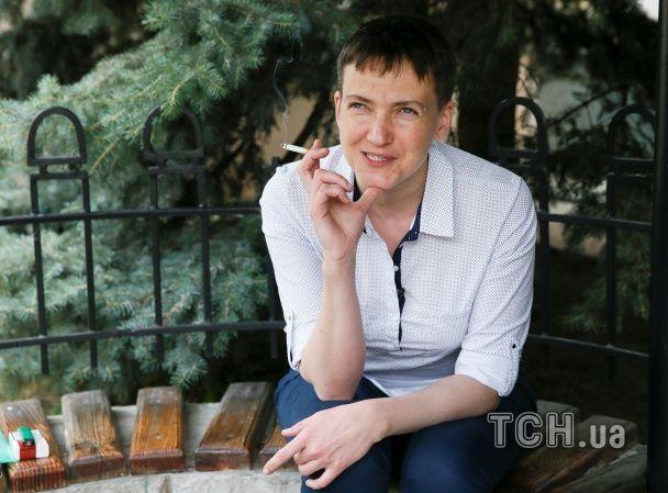 Савченко: Рада - це акваріум, повний акул, але я також маленька піранья