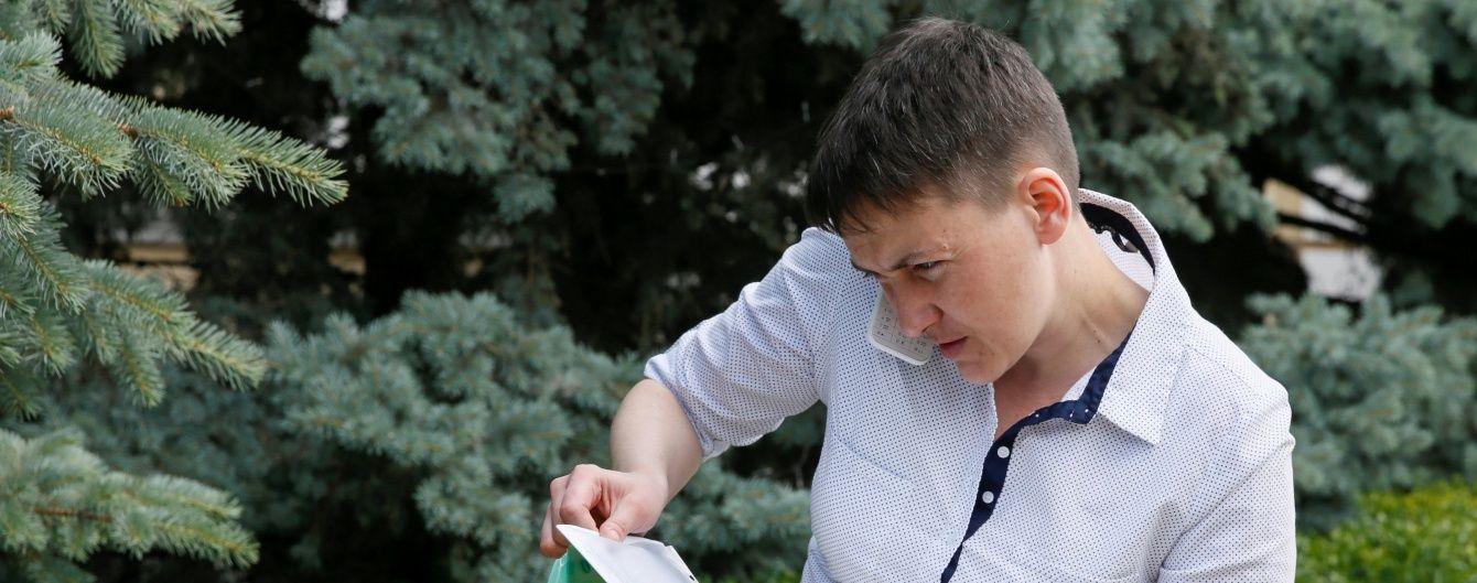 """""""Європа не може нічого не робити"""". Савченко закликала до персональних санкцій проти РФ"""