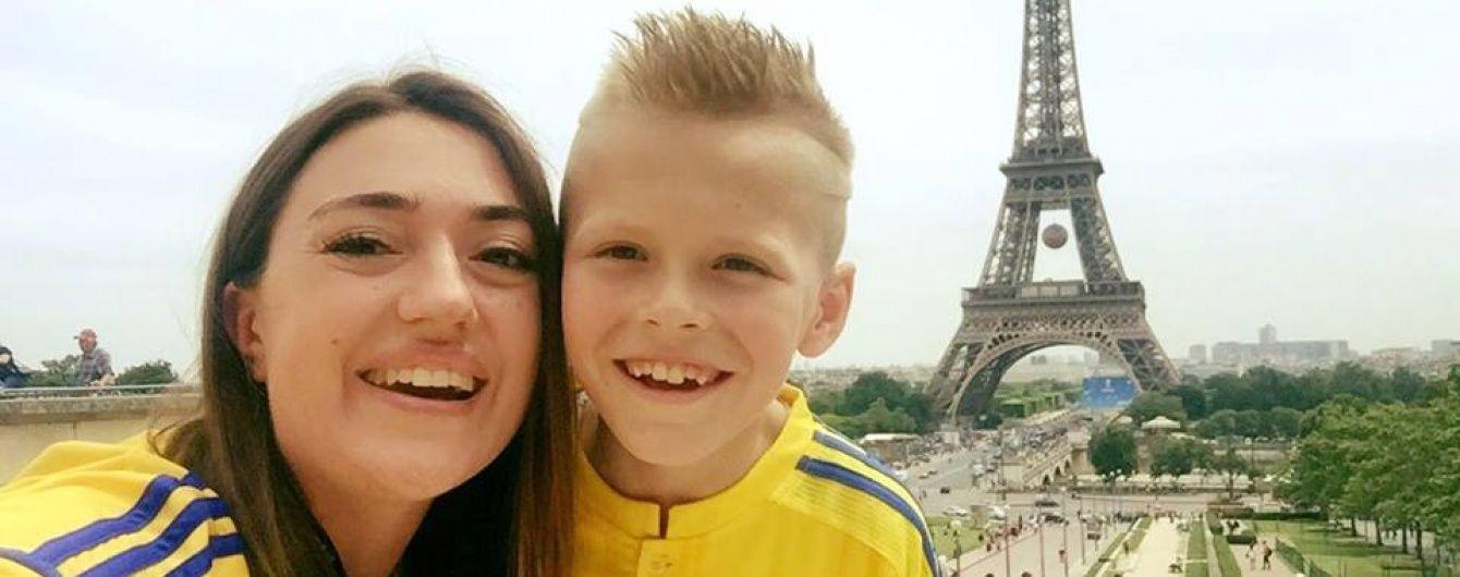 8-річний вболівальник Володя Бобенчик нарешті дістався Парижа