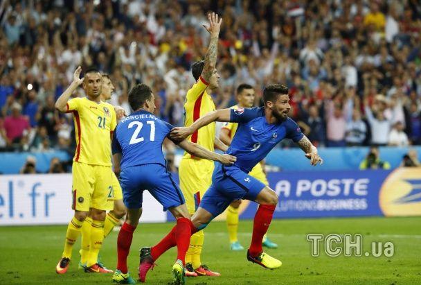 """Емоційний початок: як Франція """"вигризла"""" перемогу у Румунії на Євро-2016"""