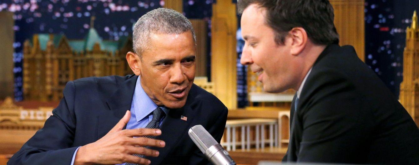 Слоу джем від Обами. Президент США заспівав про свої досягнення на посаді