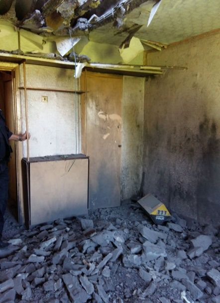 Бойовики обстріляли з артустановок житловий сектор Торецька
