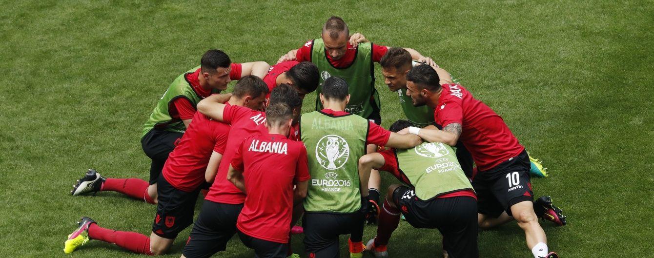 Албанія та Швейцарія назвали стартові склади на поєдинок Євро-2016