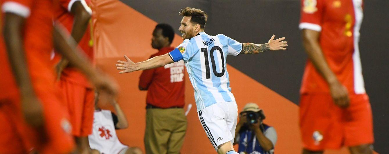 Мессі розгромив Панаму для Аргентини, а Відаль врятував Чилі. Результати матчів Копа Америка-2016