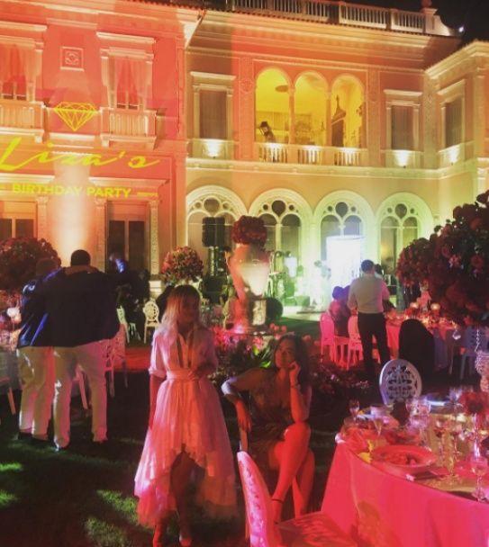 Ліза Ющенко відсвяткувала 30-річчя у розкішному маєтку у Франції