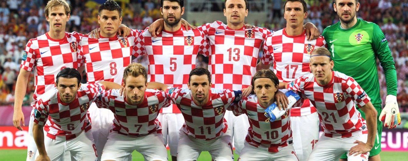 Два гравці чемпіонату України вийдуть в основі хорватів на матч Євро-2016 проти Туреччини