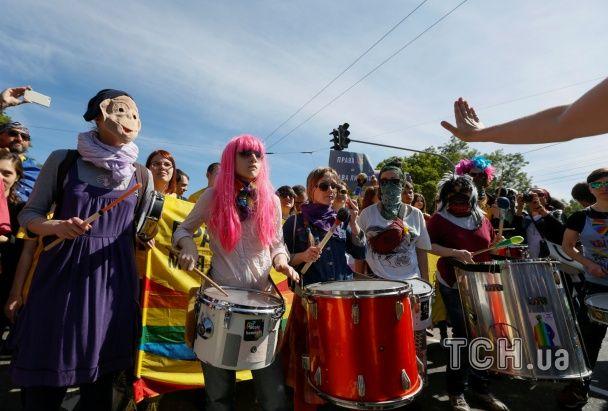 """""""Різні та рівні"""". Як у столиці відбувся Марш рівності"""
