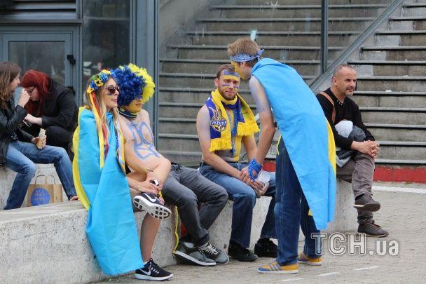 Як синьо-жовтий Лілль чекає на поєдинок Німеччина - Україна