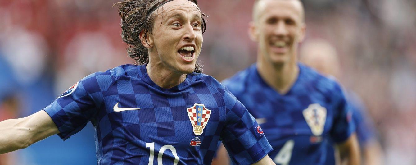 Хорватія не мала проблем з Туреччиною у поєдинку першого туру Євро-2016