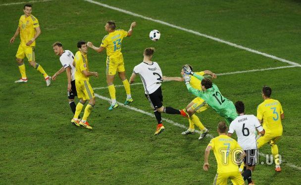 Перший млинець грудкою: як Україна поступилася Німеччині на старті Євро-2016