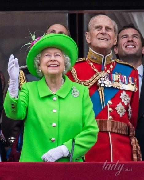Королева Елизавета II и герцог Эдинбургский Филипп