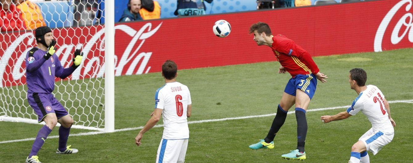 Іспанія вимучила перемогу над Чехією на Євро-2016