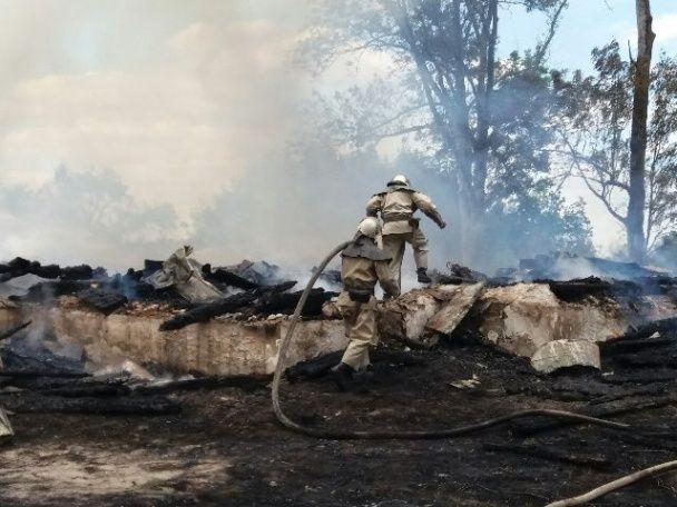 На Житомирщині вщент згоріла дерев'яна церква