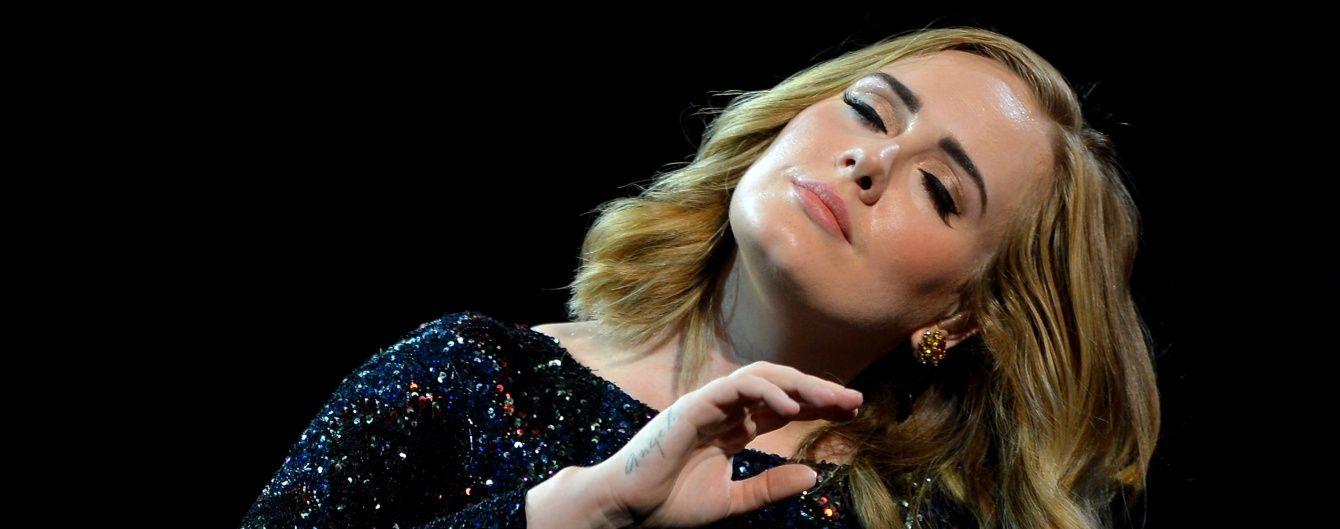 """Адель присвятила концерт """"кінцю епохи"""" Пітта та Джолі"""