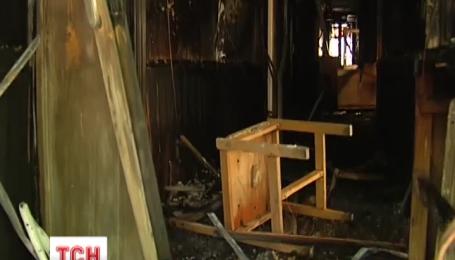 В Соломенском районном суде произошел пожар