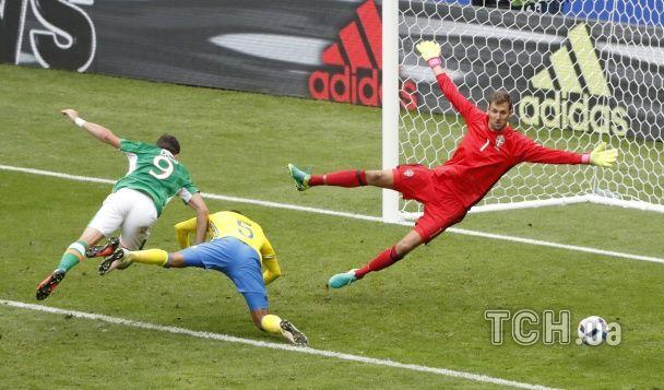 Як шведи билися з ірландцями у паризькому матчі Євро-2016
