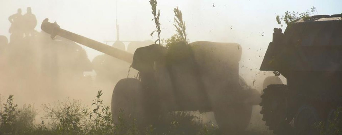 Боевики обстреливали из пулеметов украинских бойцов на Мариупольском направлении. Дайджест АТО