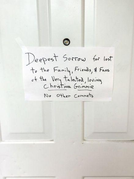 Родина вбивці Крістіни Гріммі