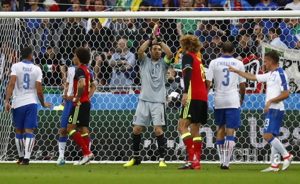 Бельгійське розчарування. Як Італія переможно почала шлях на Євро-2016