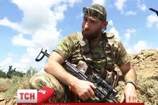 Грузини на передовій АТО кажуть, що віддають борг українцям