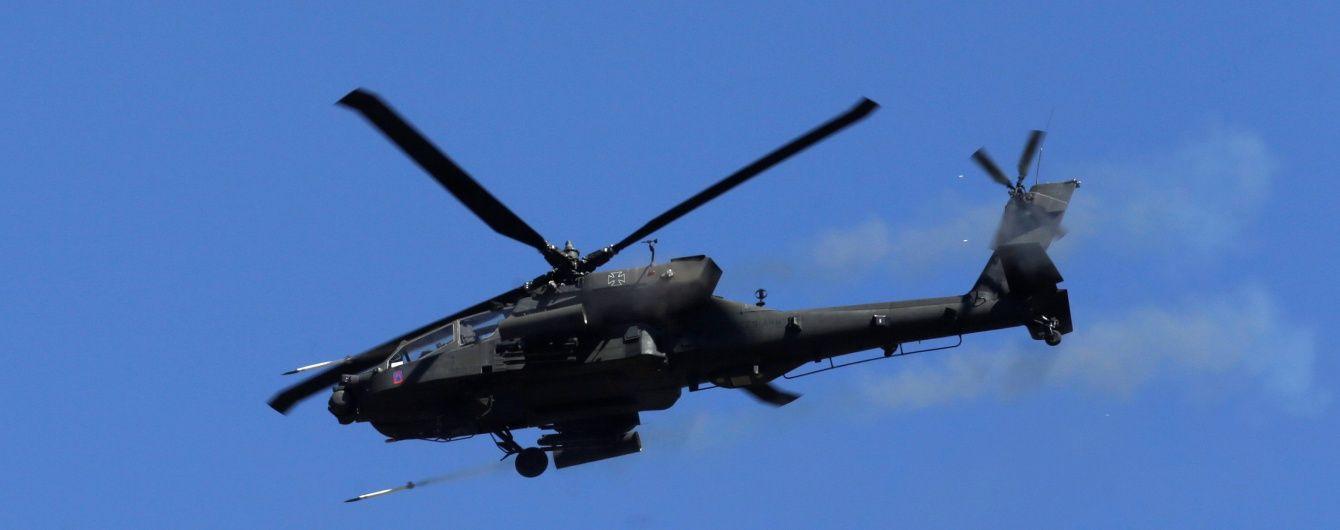 """США вперше застосували ударний вертоліт """"Апач"""" проти ІД"""