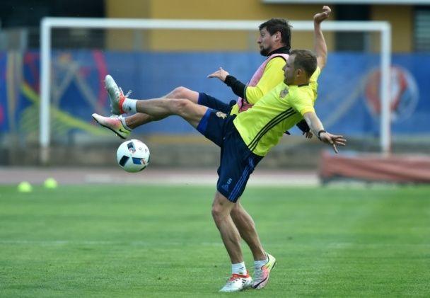 Збірна України показала, як готується до другої битви Євро-2016