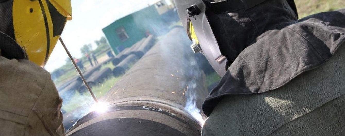 Імпорт газу з Польщі до України припинено через аварію на трубі