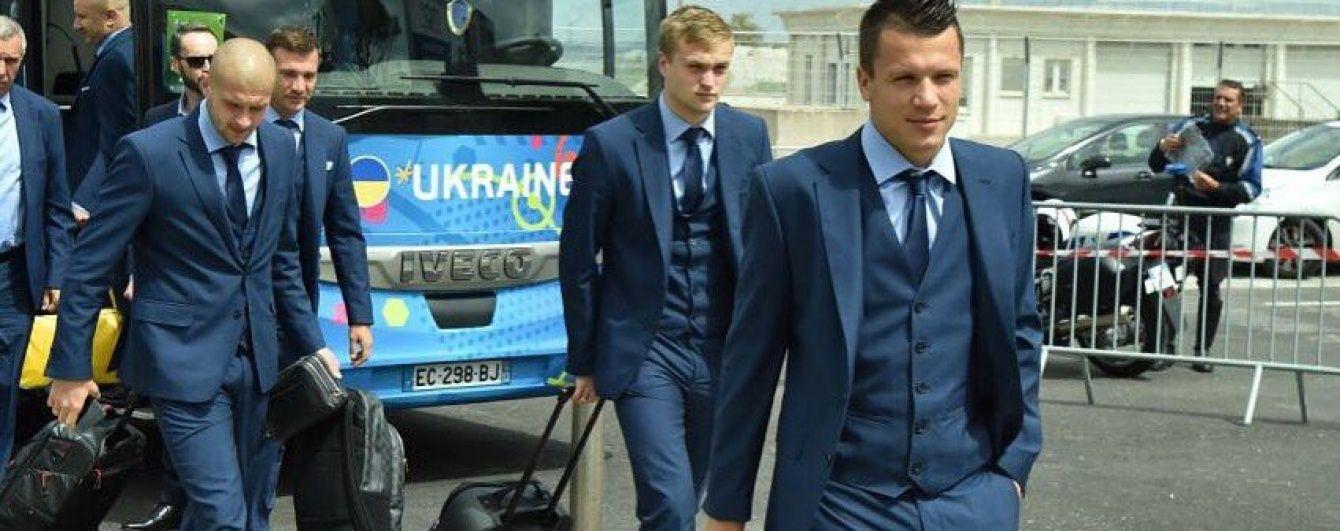 Збірна України вирушила до Ліона на бій з Північною Ірландією