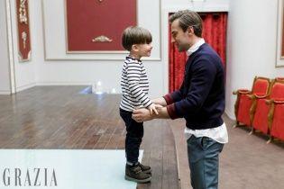 Шепелєв провів сімейні вихідні із підрослим сином