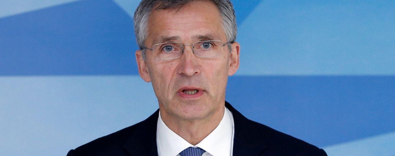 Столтенберг не виключає можливості постачання Україні летальної зброї