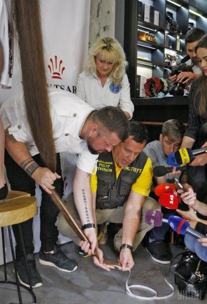 Українка встановила новий національний рекорд на найдовшу косу