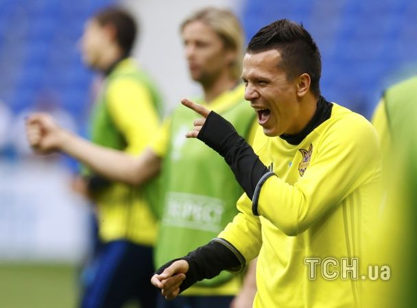 Розминка у Ліоні. Українські футболісти потренувалися перед другим боєм Євро-2016