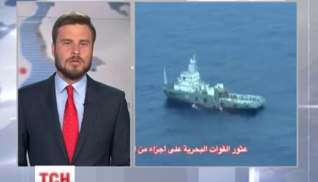 Обломки самолета EgyptAir нашли в Средиземном море