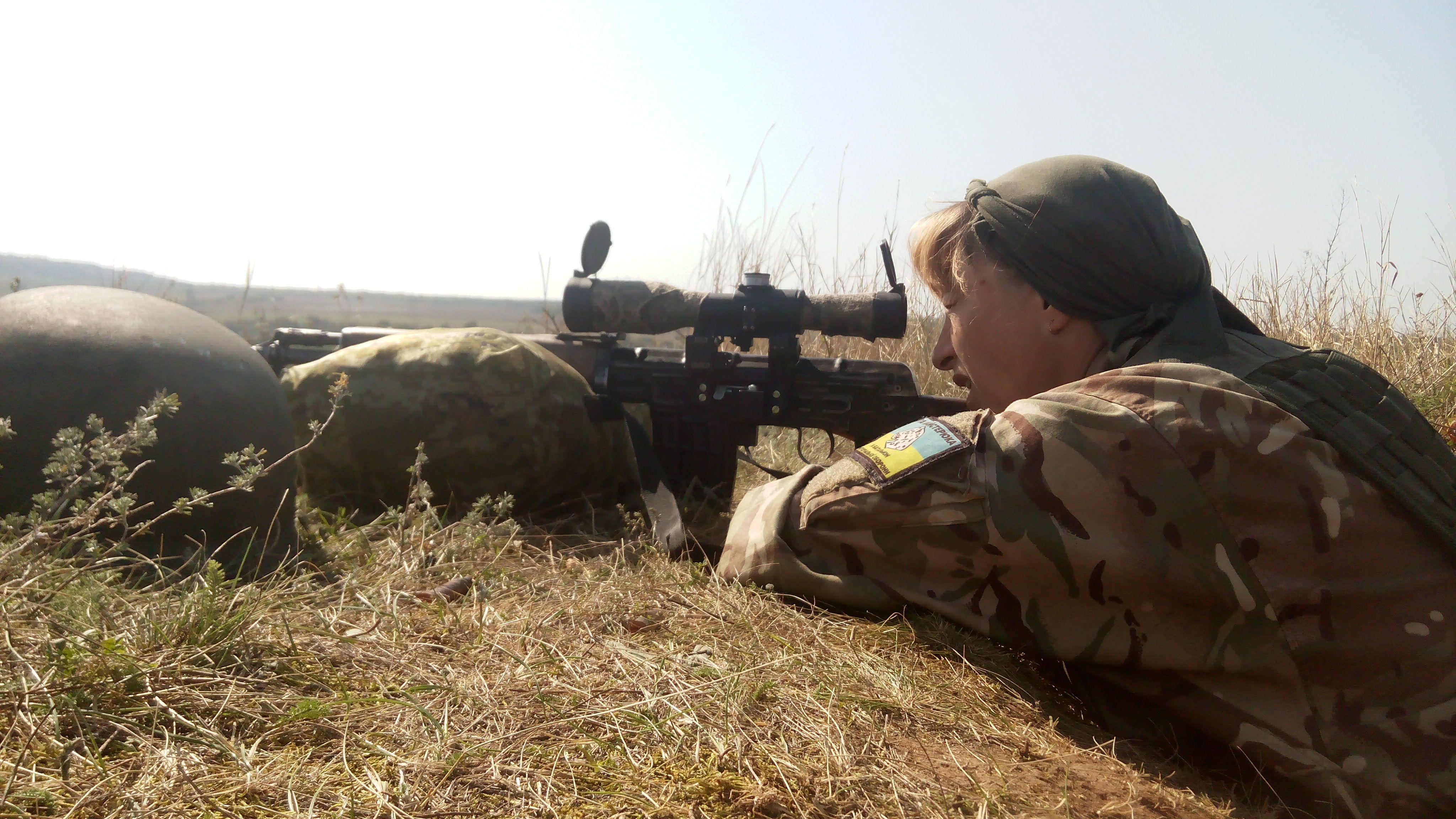 Снайпер Рысь, Ольга Терещенко_2