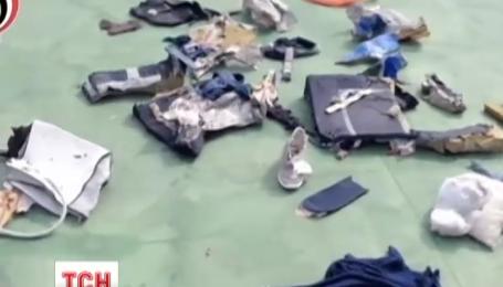 В Средиземном море удалось обнаружить несколько мест сосредоточения обломков лайнера Egypt Air
