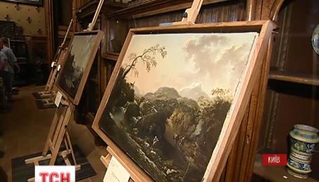 В музее Ханенко экспонируют похищенные из Вероны картины
