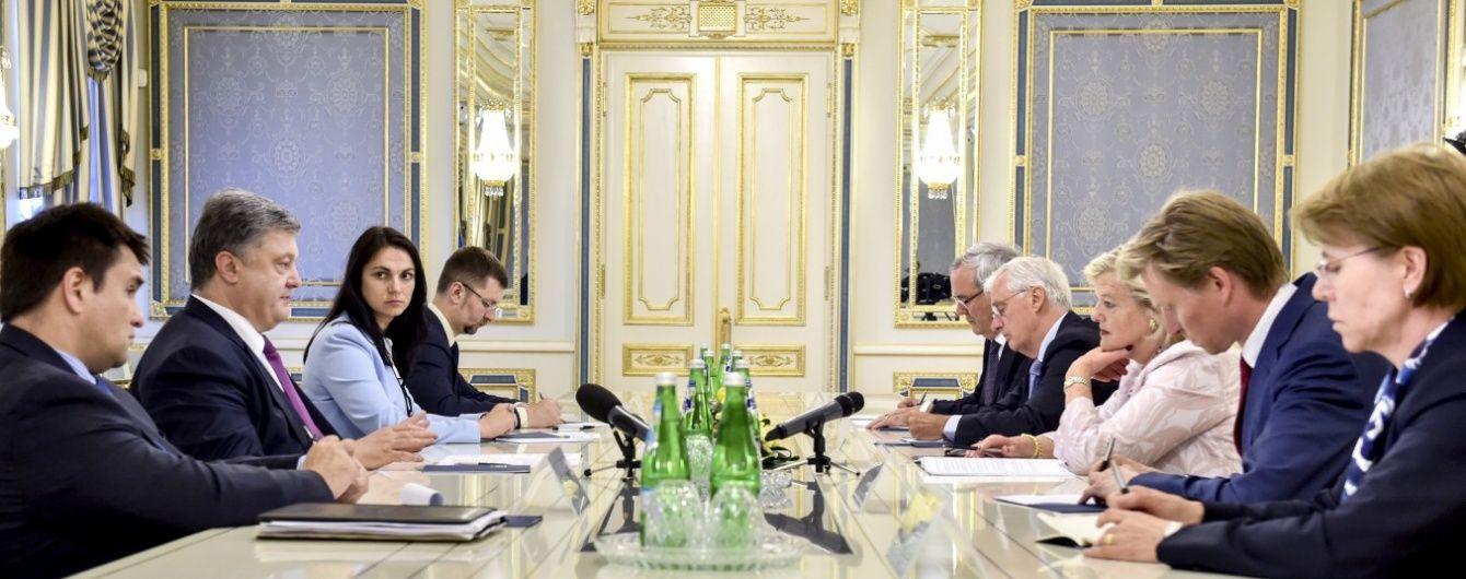 Президент закликав Нідерланди завершити ратифікацію Угоди про асоціацію між Україною та ЄС