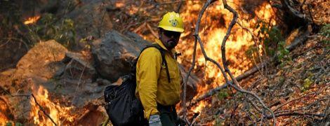 У Каліфорнії через сильні лісові пожежі евакуюють людей