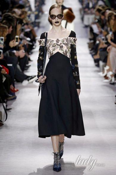 Коллекция Christian Dior  прет-а-порте сезона осень-зима 2016-2017_10