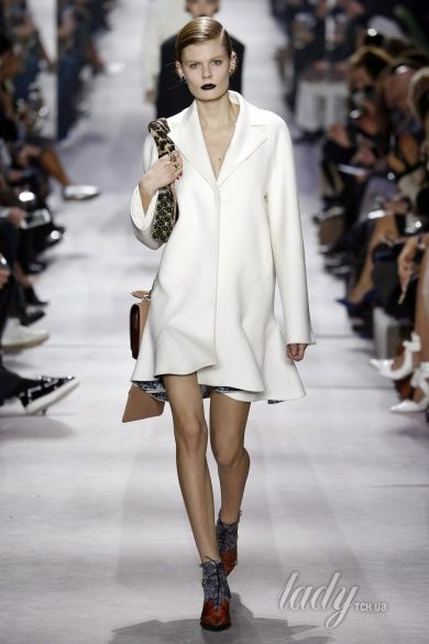 Коллекция Christian Dior  прет-а-порте сезона осень-зима 2016-2017_35