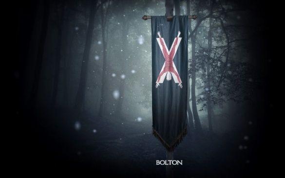 Герб Болтонів, Гра престолів