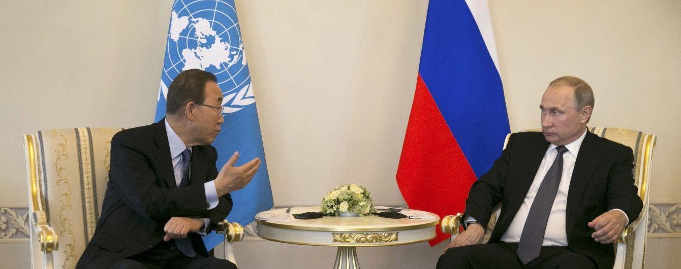 Скандал набирає обертів. За дорученням Порошенка Україна направила генсеку ООН лист протесту