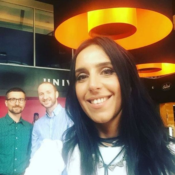 Мандрівниця Джамала відвідала концерт популярних Coldplay у Нью-Йорку