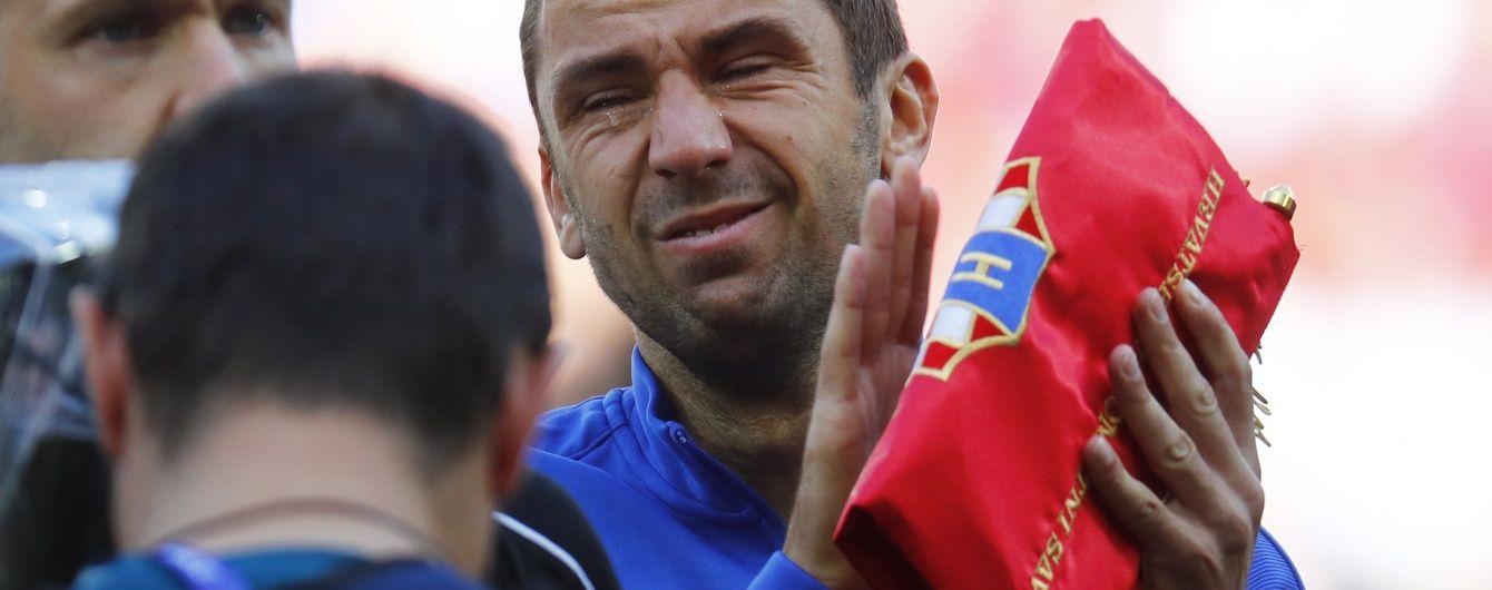 Капітан збірної Хорватії Срна розплакався перед матчем Євро-2016 проти чехів
