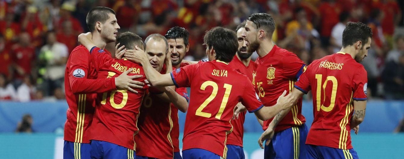 Іспанія познущалася над Туреччиною та вийшла в 1/8 фіналу Євро-2016