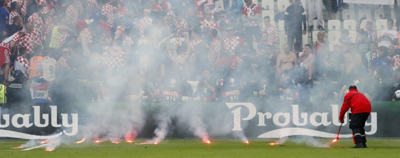 УЄФА завів справу проти Хорватії через безлади вболівальників