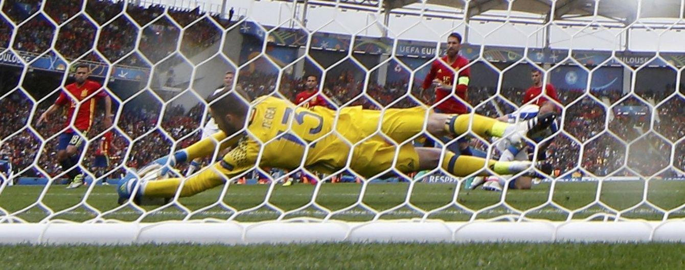 Голкіпер збірної Іспанії побив рекорд 50-річної давнини