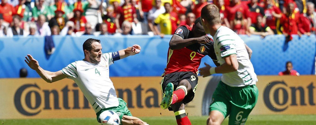"""Бельгія """"на одній нозі"""" обіграла Ірландію на Євро-2016"""