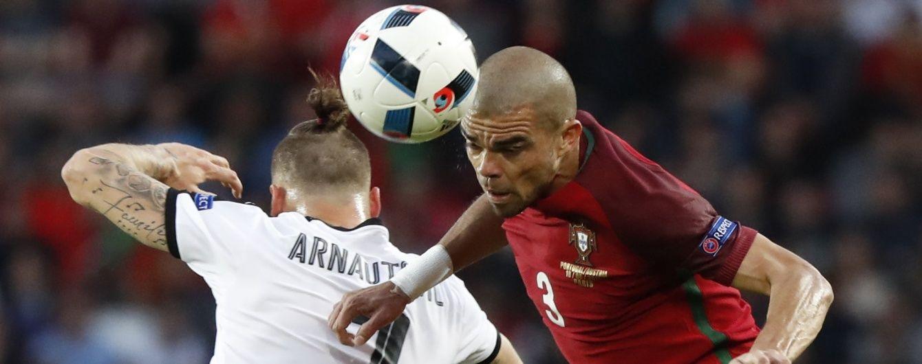 Португалія не змогла дотиснути Австрію на Євро-2016